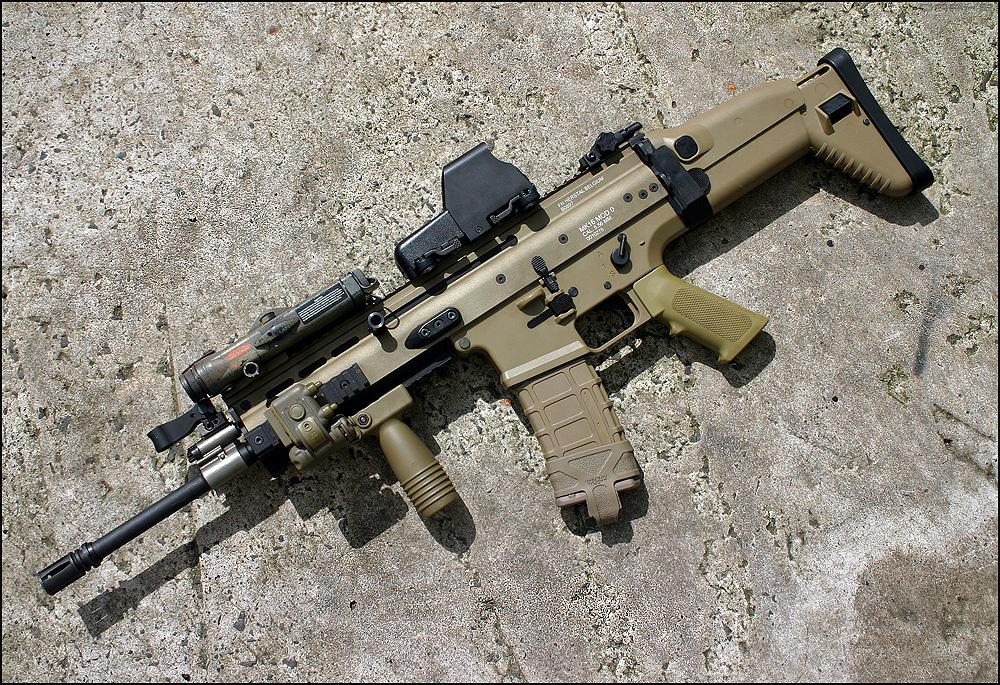 ابني جيشك الخاص بأي سلاح تريد  - صفحة 2 FN_SCAR_L_by_Drake_UK
