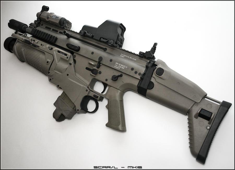 FN SCAR-EGLM by Drake-UK