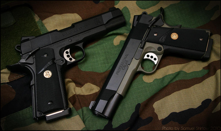 Colt 1911 MEU updated. by Drake-UK