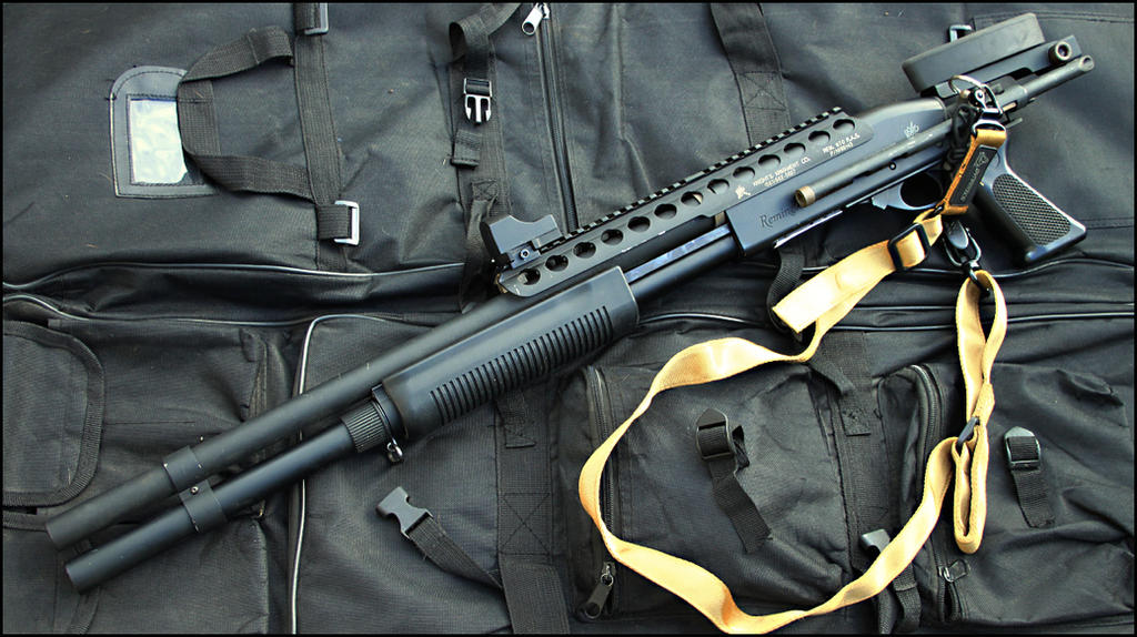 Remington 870 tactical shotgun by Drake-UK