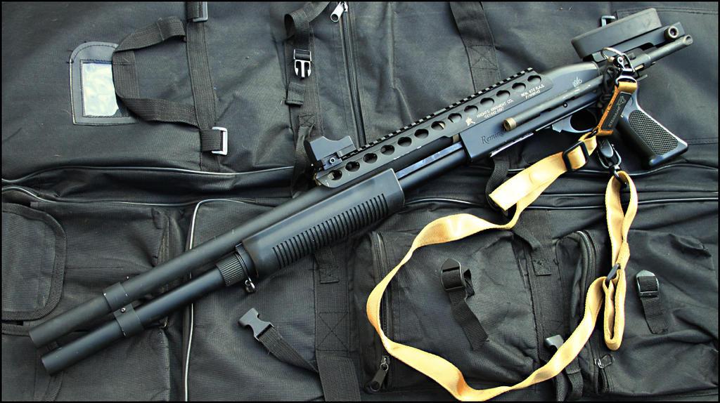 Remington 870 tactical shotgun by Drake-UK