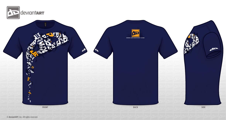 Design t shirt uk - Deviantwear T Shirt Design By Drake Uk