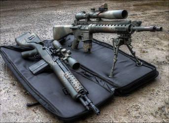 Designated Marksman Rifles by Drake-UK