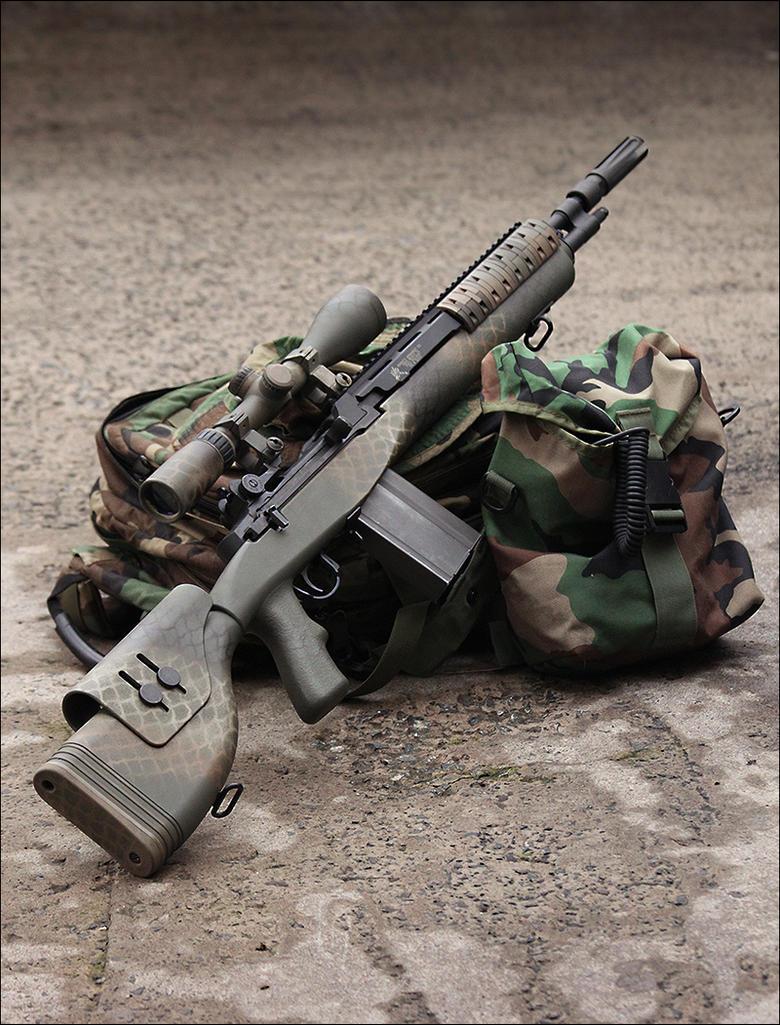 M14 DMR by Drake-UK on DeviantArt M14 Sniper Rifle Usmc