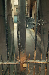 Old lock by Drake-UK