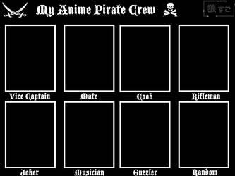 Anime Pirate Crew by Oukami-SuGo