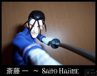 Figure 38 - Saito Hajime by Oukami-SuGo