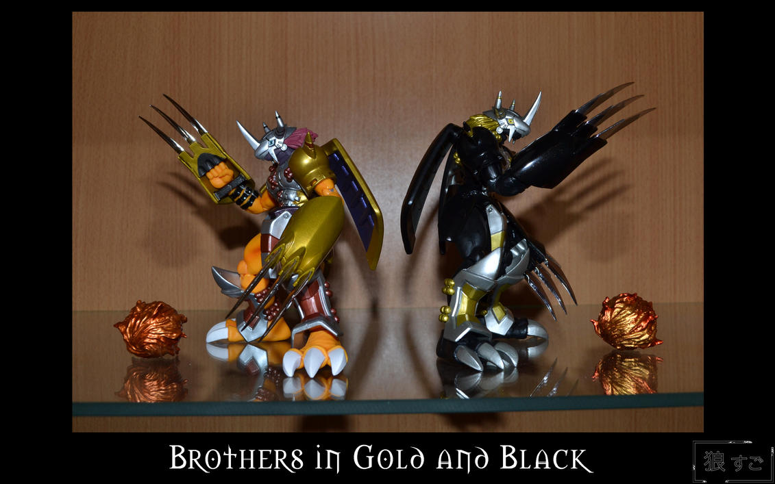 Figure 47 - Brothers in Gold and Black by Oukami-SuGo