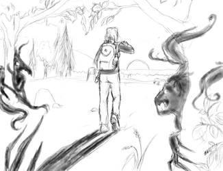 Walking with nightmares by Shuasu