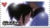 Gintoki x Otae STAMP by Iwonn