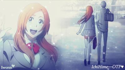 IchiHime-ID by Iwonn