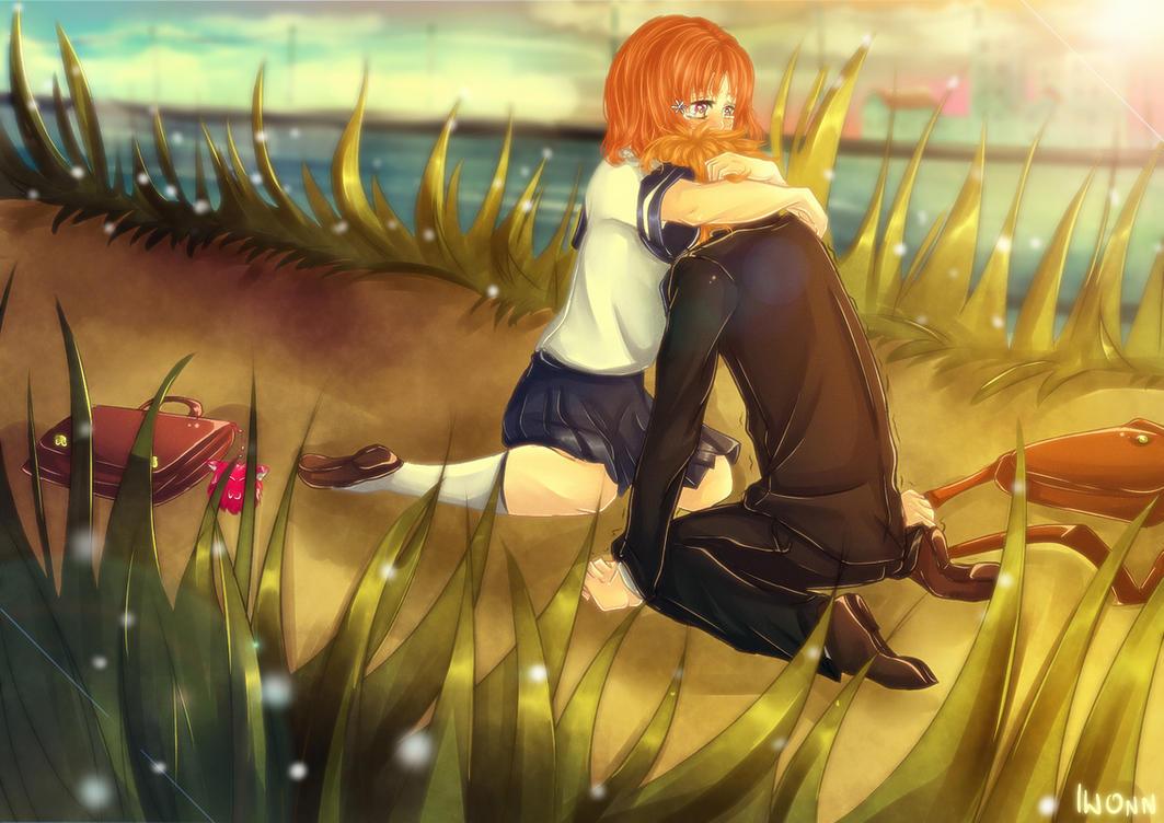[IchiHime] It's okay to cry, Kurosaki-kun by Iwonn