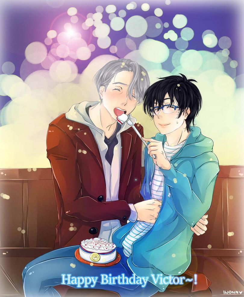 Happy Birthday Victor by Iwonn