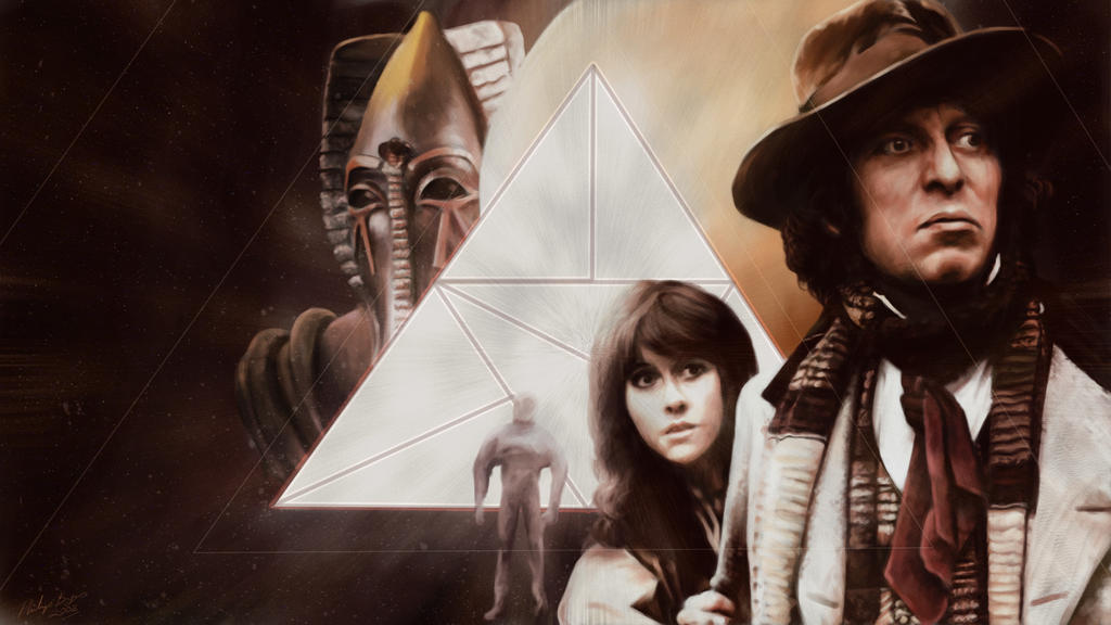 Pyramids of Mars by JanjyGiggins
