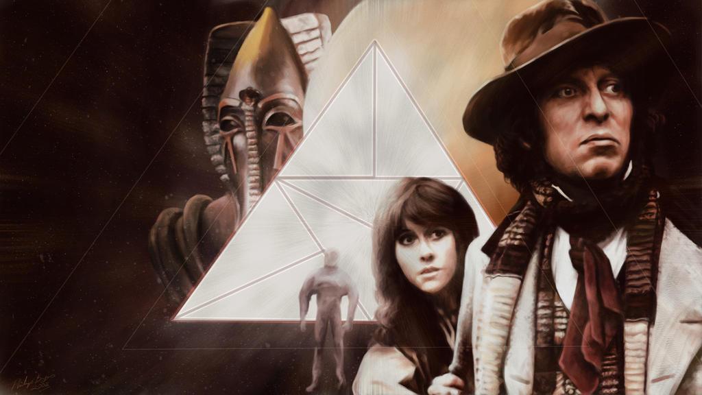 Pyramids of Mars by JanjyGiggins