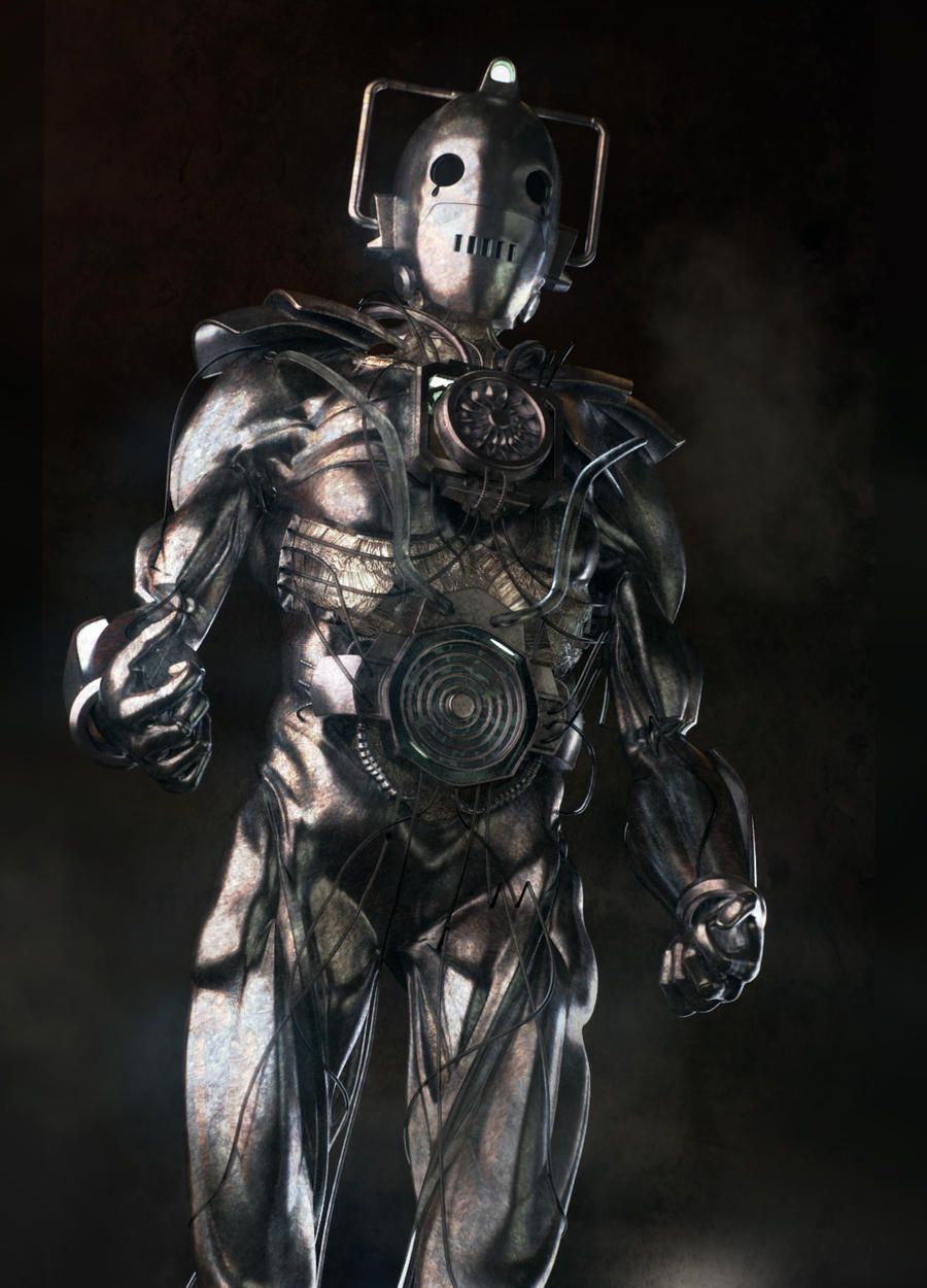 Redesign of the Cybermen by JanjyGiggins