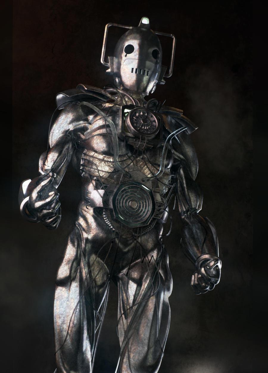 Redesign Of The Cybermen By Janjygiggins On Deviantart