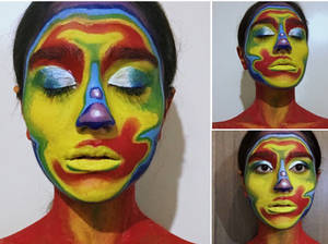 Thermal (face painting)