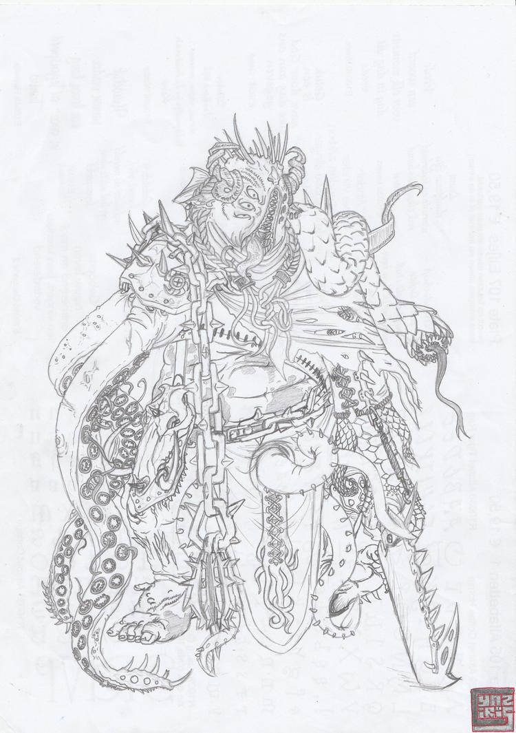 Eldritch horror by cyaziris
