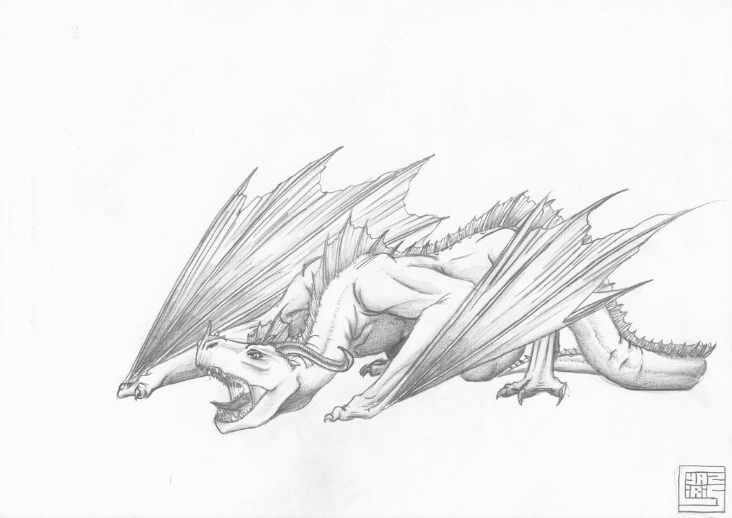Random dragon by cyaziris