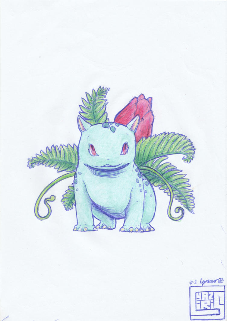 Work notebloc - Ivysaur by cyaziris