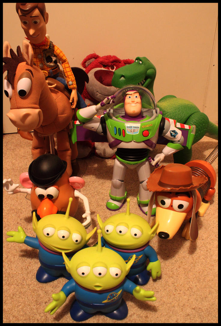 .Toy Story Collection. By THo0mPEr On DeviantArt