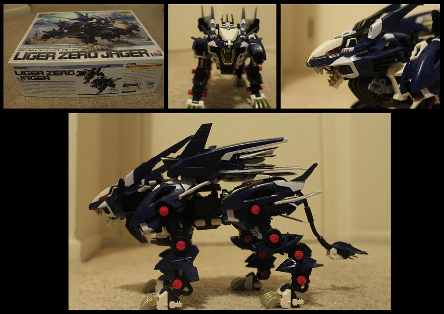 Zoids Liger Zero Jager Scale Liger Zero Jager by