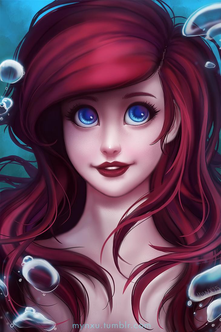Ariel by Mynxuu on DeviantArt