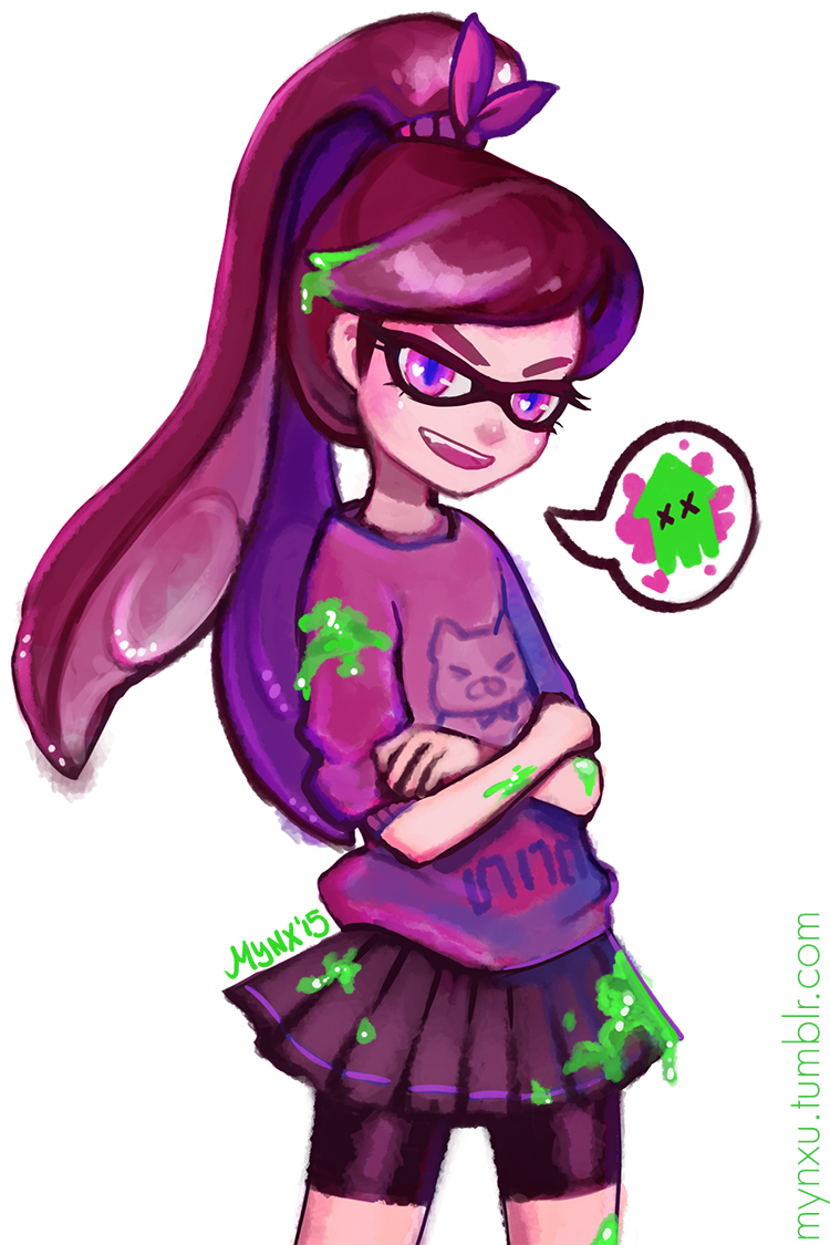 Inkling Girl By Mynxuu On Deviantart