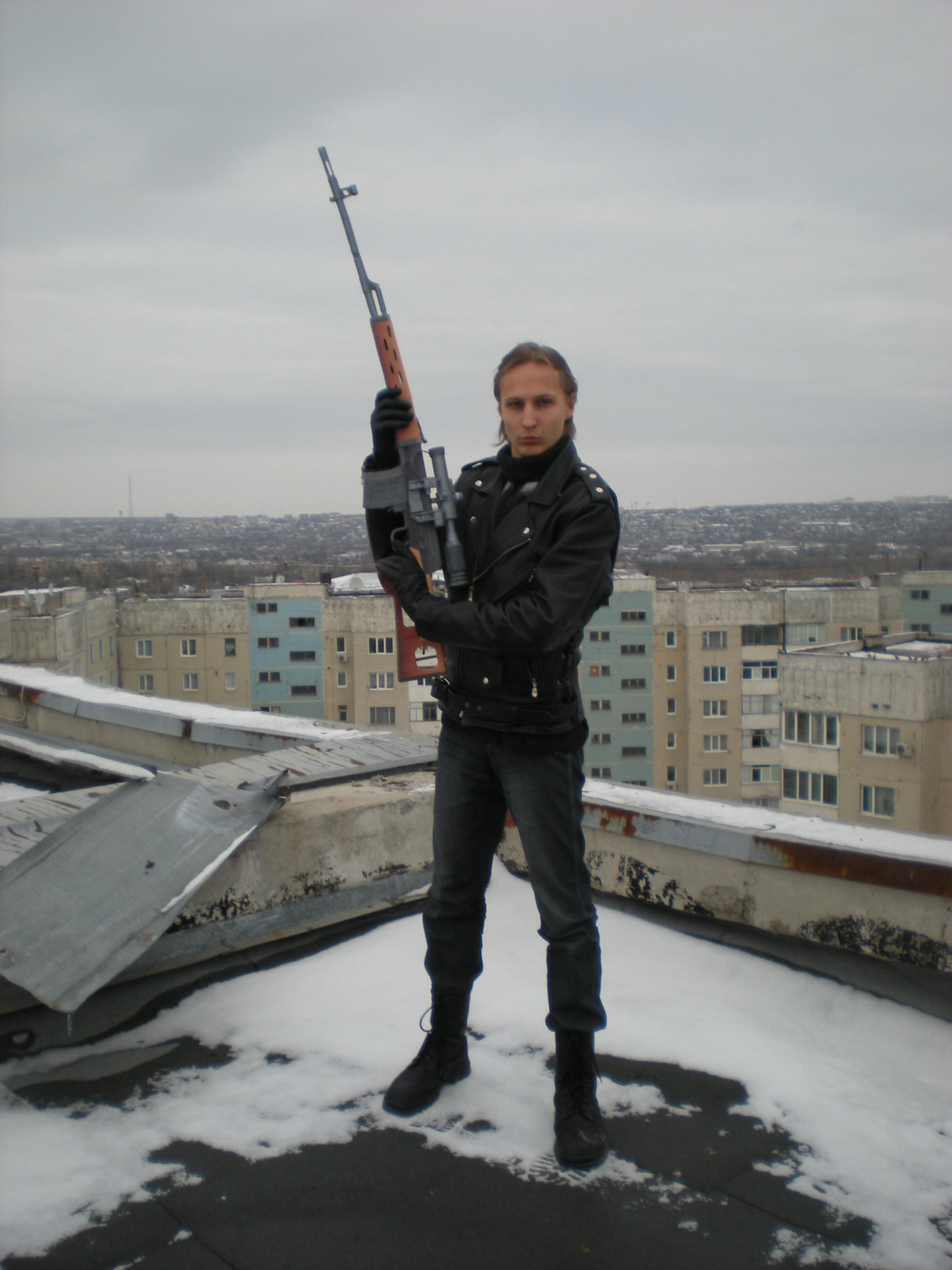 Dragunov SVD Sniper Rifle By MechenyiZlom