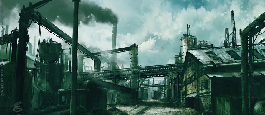 Warehouse by NikYeliseyev