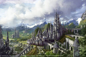 Castle by NikYeliseyev