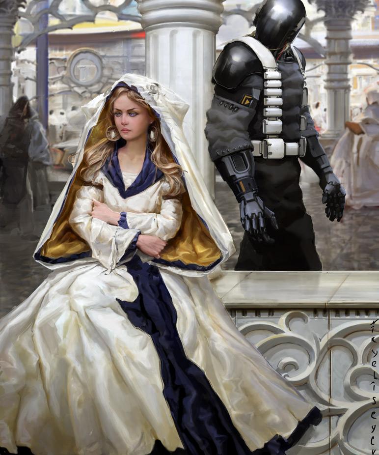 White by NikYeliseyev