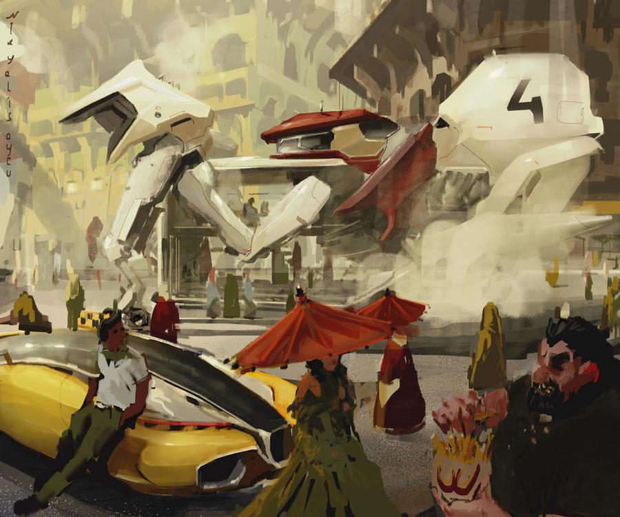 taxi-taxi by NikYeliseyev