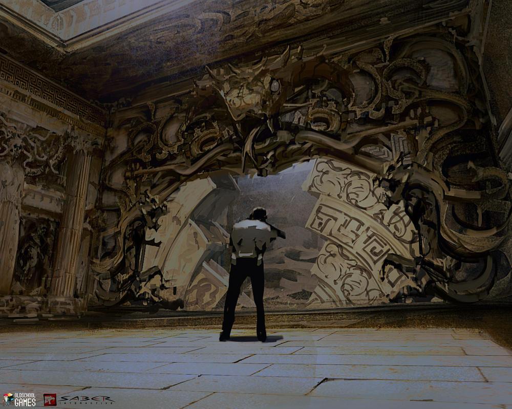 Godmode-gates by NikYeliseyev