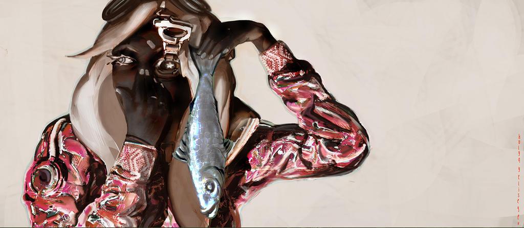fish by NikYeliseyev
