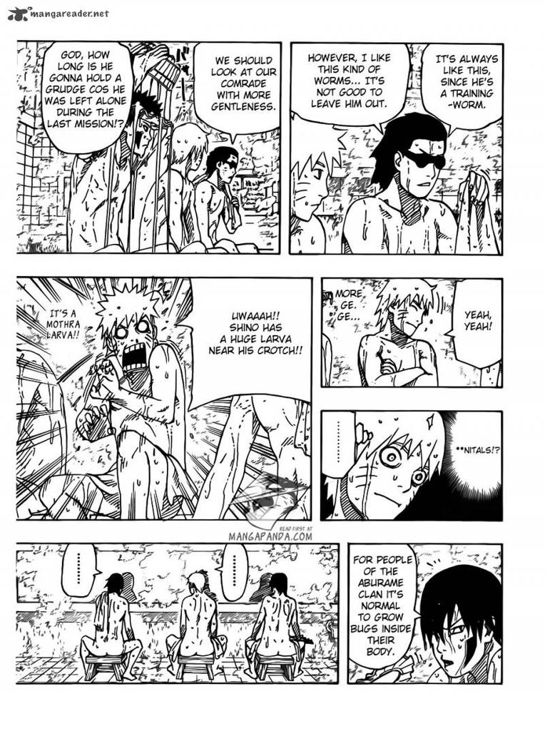 Naruto  Road to Ninja Movie Manga - Page 11 by uzumaki-no-hairolNaruto Road To Ninja Shino