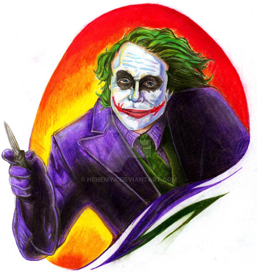 joker color by Nehemya on DeviantArt