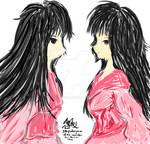 Touhou ~ Kaguya^2 by resurrexia