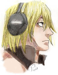 Colored Mello sketch by Shendificator