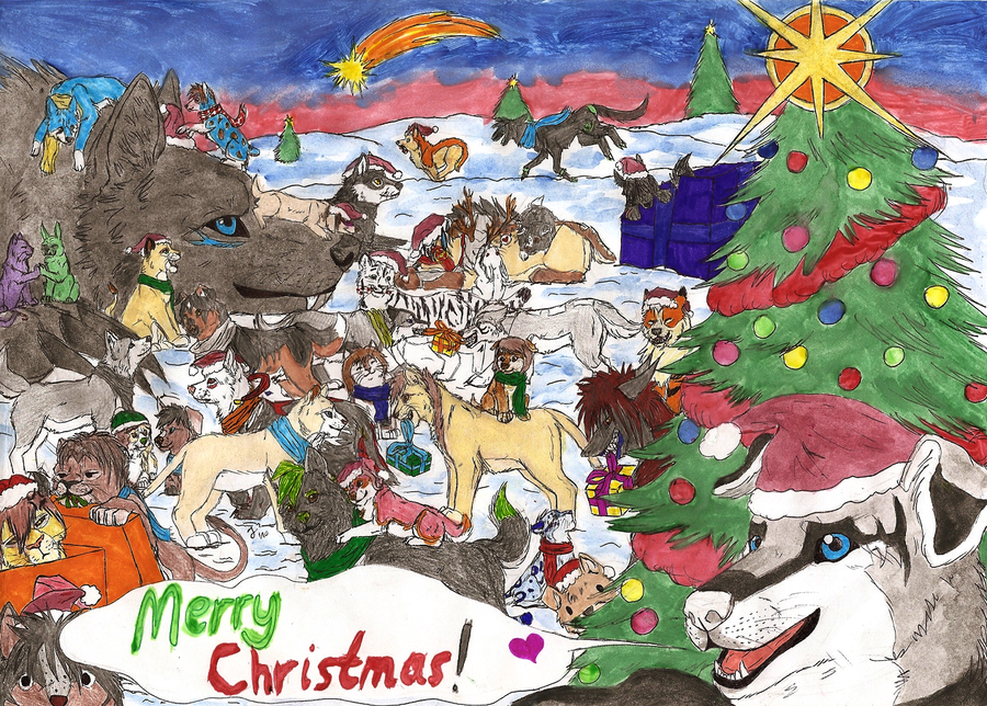 Merry Christmas - 2010 by Shendificator