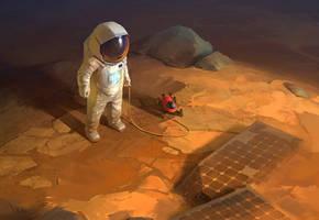 Martian by Yokell