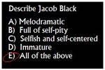 Jacob Black Quiz