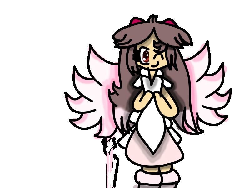my Angel Form by teampikachu9945