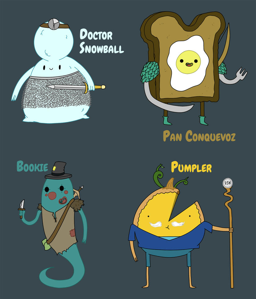 Adventure Time Roleplaying Characters by Lightrail