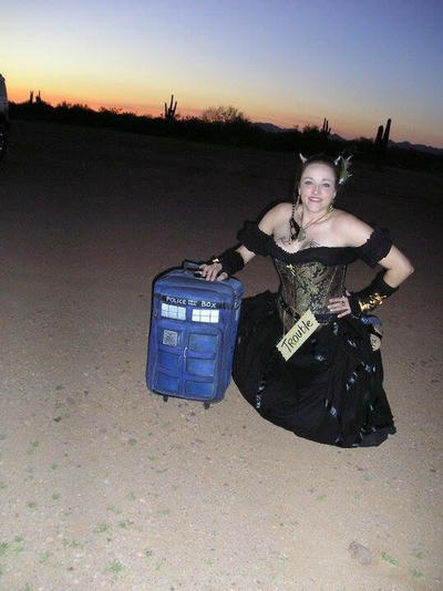 Trouble Mayking and her TARDIS, Year 1 by missmarypotter