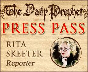Rita Skeeter, Badge by missmarypotter
