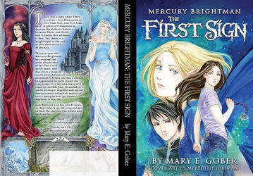 Mercury Brightman Book 1 Cover by missmarypotter