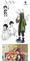 Naruto sketchdump 2