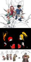 Naruto sketchdump 3